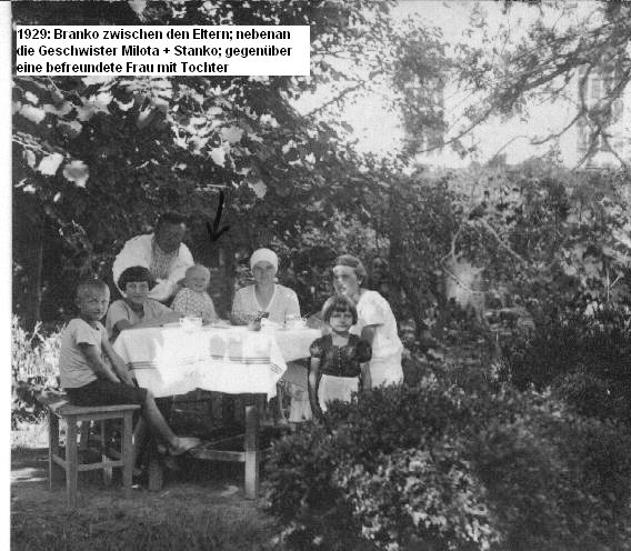 Karolina, Samuel, Branko and family 1929