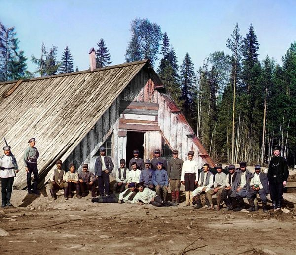 Siberian POW Camp for Czechs and Slovaks, WWI