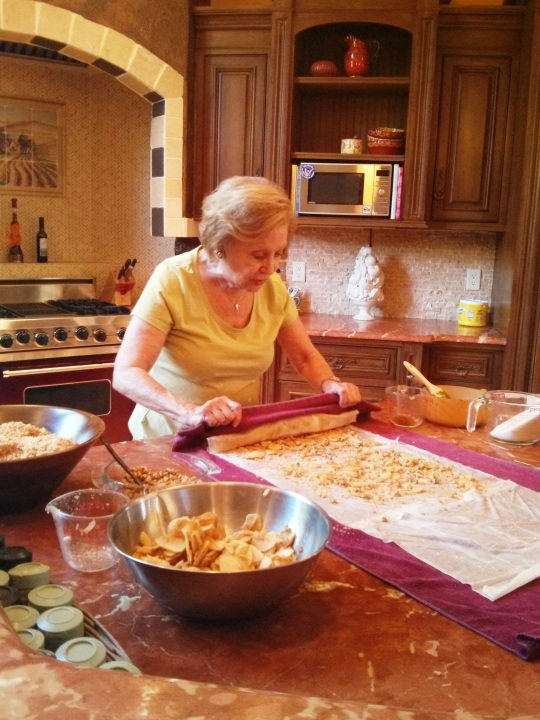 Rolling the Strudel