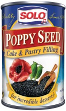 Solo Poppy Seed Cake and Pastry Filling